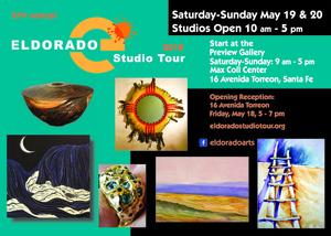 Eldorado Arts Spring Studio Tour May 19-20, 2018